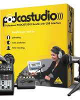 BEHRINGER - PODCASTSTUDIO USB